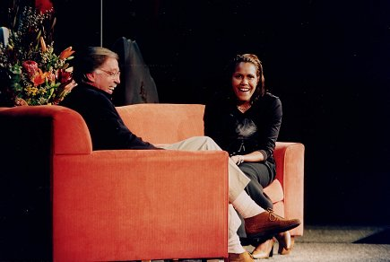 George interviews Cathy Freeman